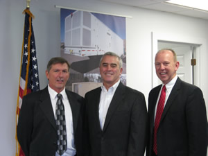 Congressman Brad Wenstrup Visits and Tours TES facility.
